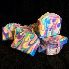 How I made this Rainbow Drop Swirl