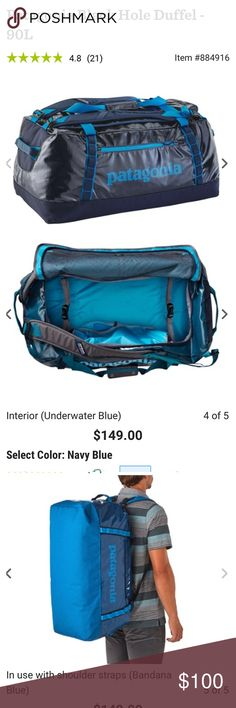 074d38fabbb Patagonia 90L duffle I actually have two Patagonia 90L duffle bags for  sale, $100 each
