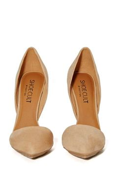 7db4b5fa803 Shoe Cult Nicole Pump - Nude - Pumps