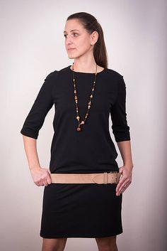 Čierne šaty raglán #detskamoda#jedinecnesaty#handmade#originalne#slovakia#slovenskydizajn#móda#šaty#original#fashion#dress#modre#ornamental#stripe#dresses#vyrobenenaslovensku#children#fashion#rucnemalovane Tunic Tops, Long Sleeve, Sleeves, Mens Tops, T Shirt, Women, Fashion, Supreme T Shirt, Moda