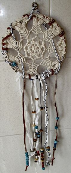 @Madeline Smith. Here ya go....Get crafty. Hand made Dream Catcher