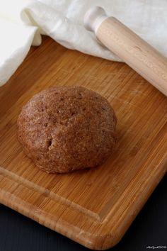 Pasta frolla integrale senza burro e senza uova   Vegan shortcrust pastry   RicetteVegolose