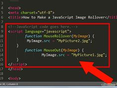 How to Make a JavaScript Image Rollover