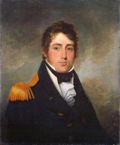 Lieutenant Provo William Parry Wallis, R.N.,   ca. 1813   by Robert Field
