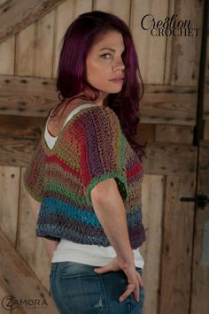Free Crochet Pattern for the Textures Top.