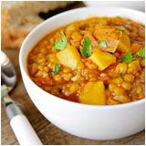 curried lentil soup- must try!