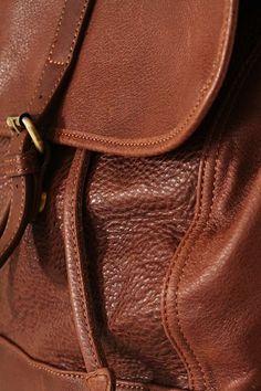 Freshman Leather Backpack - Brown Freshman bbfe57eb56eeb