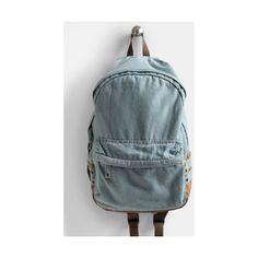 Valley Girl Denim Backpack $45 .