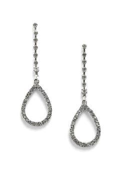 A Drop of Dazzle Earrings, #ModCloth