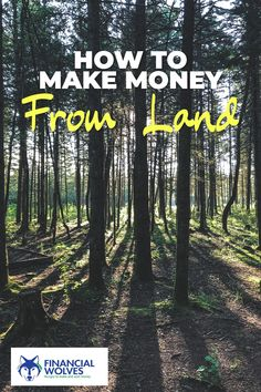 Do you know how to make passive income from land that's raw and vacant? Read this comprehensive guide to get all the details you need. Make Money Now, Earn Money From Home, Make Money Blogging, Saving Money, Earn Extra Cash, Making Extra Cash, New Business Ideas, Online Business, Best Side Jobs