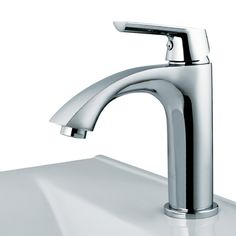 """Vigo Single Hole Penela Faucet ($87), Standard 1.4'' diameter opening - Overall Faucet Height: 7.25"""" Spout Height: 3.75"""" Spout Reach: 5.06"""" - Compatible drain assembly part #: VG07000 and VG16002"""