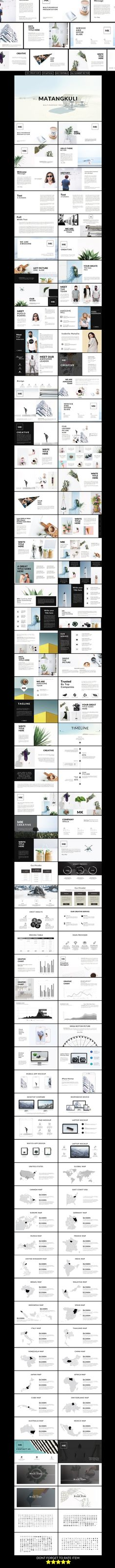 Matangkuli Multipurpose Powerpoint Template - PowerPoint Templates Presentation Templates