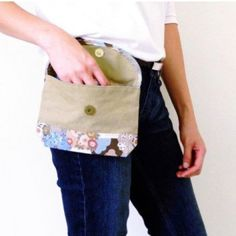 Hip Pouch - Belt Bag - Free PDF Sewing Pattern from Ning Bags