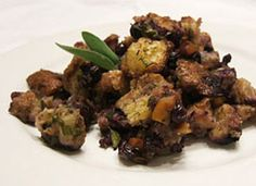 Wild Blueberry Cornbread Stuffing - 13 healthy Thanksgiving recipes