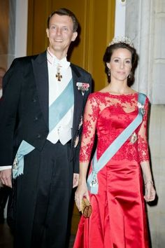 MYROYALS &HOLLYWOOD FASHİON: State Visit from Turkey to Denmark - Day 1 (Dinner), March 17, 2014-Prince Joachim and Princess Marie
