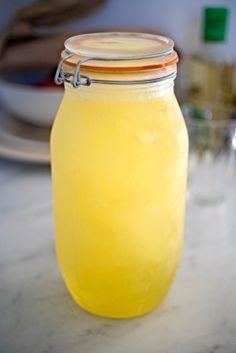 Homemade limoncello is easy to make!