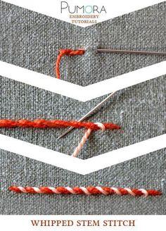 Двухцветные строчки (подборка) / Вышивка / ВТОРАЯ УЛИЦА