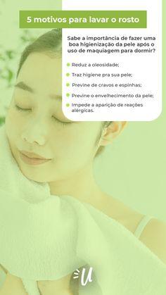 Mig, você sabia que lavar o rosto todos os dias é um dos cuidados mais importantes que precisamos ter com a nossa pele? Além de retirar todas as impurezas que ficam sobre a face, a higiene correta diminui a oleosidade, evita o surgimento de cravos e espinhas, mantendo, assim, a região equilibrada. E não para por aí: dormir com a pele limpa favorece também a renovação celular, isso porque é durante o sono que as células trabalham em dobro para reparar e renovar o tecido. 💛