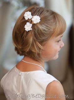 134 Best Flower Girl Hair Images Flower Girl Hairstyles Wedding
