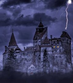 Bran Castle (Dracula's Castle), Transylvania, Romania   by Mario Maindl
