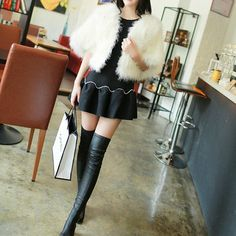 Various real Fur Ostrich Feather shrug by weddingdressoverture, $69.99