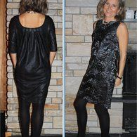 View details for the pattern Gathered Back Dress 12/2015  #109B on BurdaStyle.