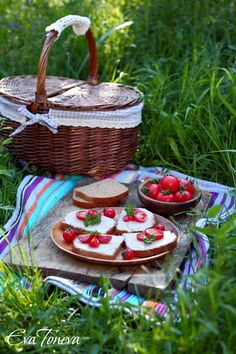 Picnic with pate Compass - food styling, props and photographs