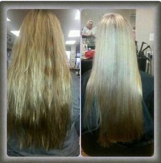 Lift the brassy color and enhance the intended shade  of blonde using monat Revampyourhair.mymonat.com