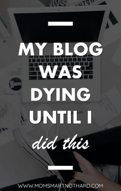 My blog was on the v