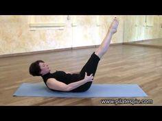 Esercizi per Addominali Scolpiti (Pilates) - 4 - The Hundred - YouTube