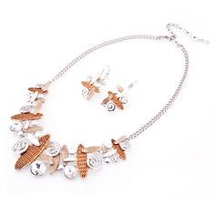 Multicolored Vogue style decorations Fashion Jewelry Set