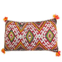 One-Of-A-Kind Moroccan Pillow by Moroccan @Luvocracy |