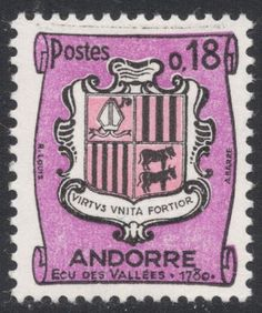 Look at those cows! They're facing to the right, which apparently is a heraldic faux-pas. From Stamp Magazine's blog!
