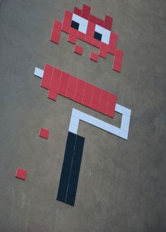 street art  8bit