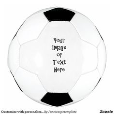 Shop Customize with personalized pictures and text soccer ball created by Fanciesqpctemplate. Personalize it with photos & text or purchase as is! Soccer Gear, Soccer Ball, Make Your Own, Make It Yourself, How To Make, Templates, Pictures, Gifts, Products