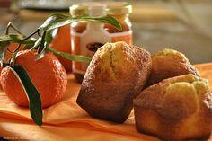 Recette des madeleines crème de caramel au beurre salé de la boutique gourmande les Jours Heureux® et clémentines bio - Kaderick en Kuizinn©...