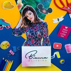 Bianca faz vídeos cheios de dicas, falando de decoração, beleza e outros assuntos do mundo feminino. #FazendoArteNaDia #scrapbooking #Youtube #maquiagem #decoração