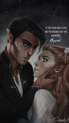 Feyre and rhysand A Court Of Wings And Ruin, A Court Of Mist And Fury, Up Book, Book Nerd, Feyre And Rhysand, Sarah J Maas Books, Fanart, Holly Black, Throne Of Glass Series