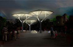'nature' solar shelter by samuel wilkinson