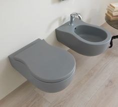 A rounded design characterizes the Pinch toilet and bidet,making them ideal for both classically styled and contemporaryinteriors. Console, Toilet, Sink, Design, Bespoke, Home Decor, Bathrooms, Contemporary Ceramics, Homemade Home Decor