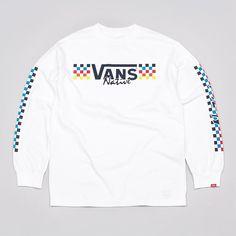Flatspot - Vans Native Long Sleeve T Shirt White