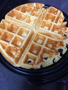 I wasn't kidding when I said the mochi waffles from the nook neighborhood bistro made an impact on me. I spent a good deal of time looking f. Mochi Waffle Recipe, Mochi Recipe, Waffle Recipes, Brunch Recipes, Dessert Recipes, Breakfast Recipes, Brunch Ideas, Breakfast Waffles, What's For Breakfast