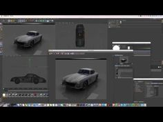 Cinema 4D Tutorial_Rendering_Reflection Rendering (시네마 4D_반사판을 이용한 렌더링 강좌) - YouTube