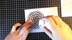 Doily Card || Aliexpress Cardmaking - YouTube