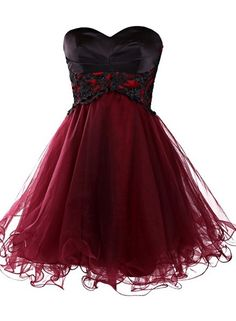 Mini Homecoming Dress, Short Burgundy Homecoming Dress