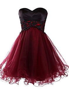 Mini Homecoming Dress, Short Burgundy Homecoming Dress