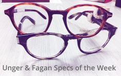59385ed7868 Tom Ford tortoiseshell keyhole specs from Unger  amp  Fagan Opticians  Source  https