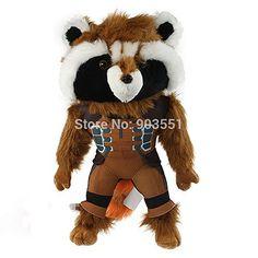 Cartoon Movies Guardians of the Galaxy Plush Toys 38cm Rocket Raccoon Soft Stuffed Dolls Gift For Ch @ niftywarehouse.com