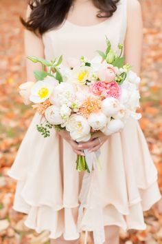 This bouquet from Poppies  Flowers (poppiesflowers.com.au) will take your breath away. Photography: Carla Micucci Photography - www.carlamicucciphotography.com/  Read More: http://www.stylemepretty.com/australia-weddings/2014/07/01/adelaide-hills-engagement-session/