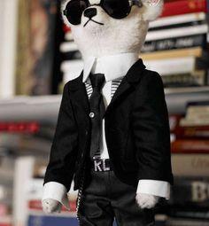 #karl #kl #bear #toy #fashion